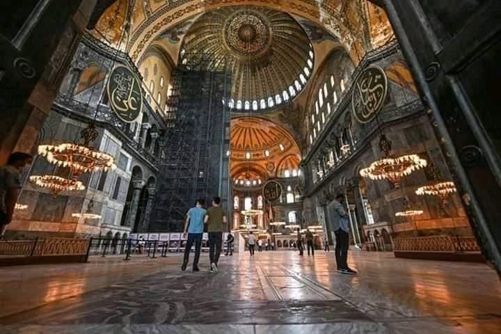 Fakta Sebenarnya Terkait Fitnah saat Haghia Sophia Menjadi Masjid Kembali