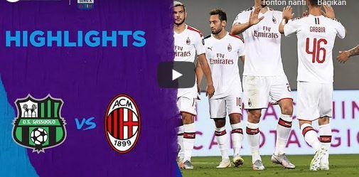 Milan kembali lanjutkan tren positif mereka dan kali ini Sassuolo menjadi korbannya