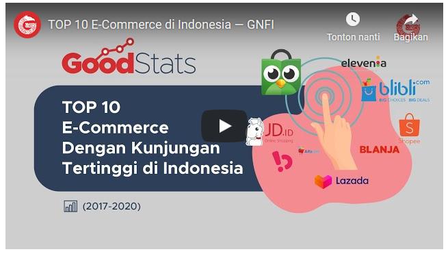 TOP 10 E-Commerce di Indonesia 2 bulan yang lalu