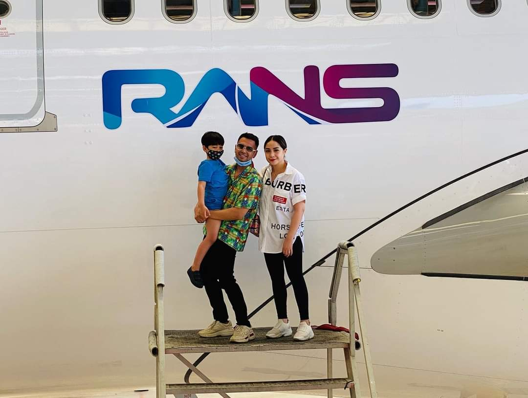Logo RANS Entertainment terpampang di pesawat PT Garuda Indonesia (Tbk). Apa Kata Dirut.Garuda