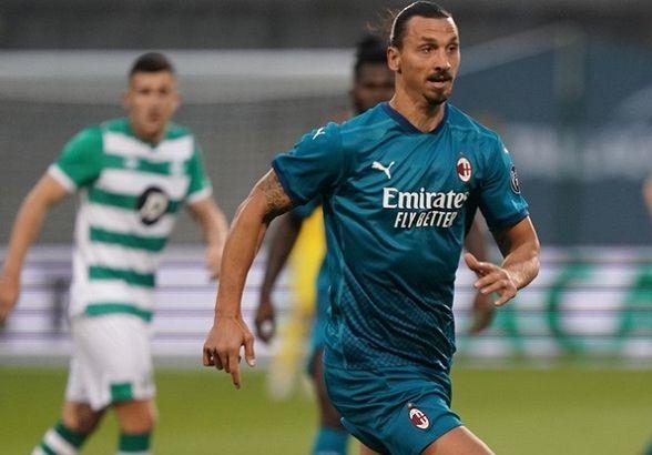 AC Milan Menang 2-0 Atas Shamrock Rovers, Zlatan Ibrahimovic Cetak Gol Pembuka