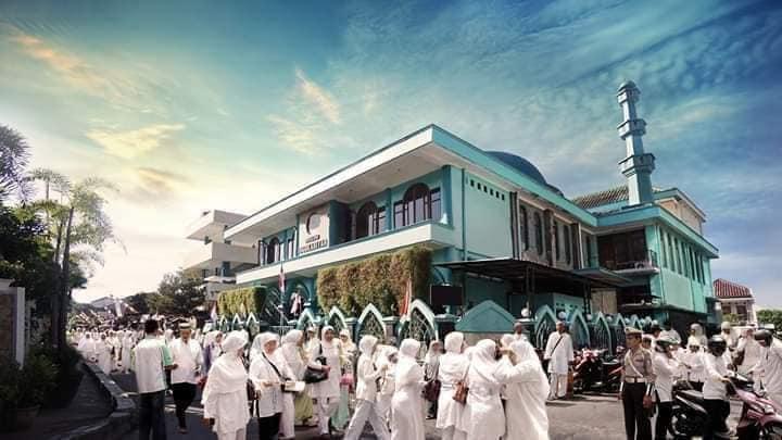 Masjid yang kas saldonya selalu Rp. 0,- saat diumumkan.. Masjid fenomenal Jogokaryan, Yogyakarta