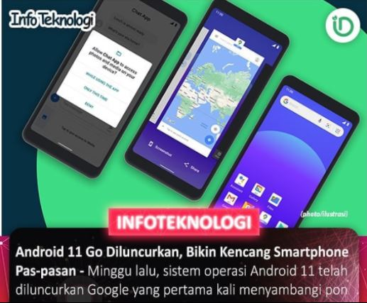 Android 11 Go siap meluncur, Bikin kencang Smartphone
