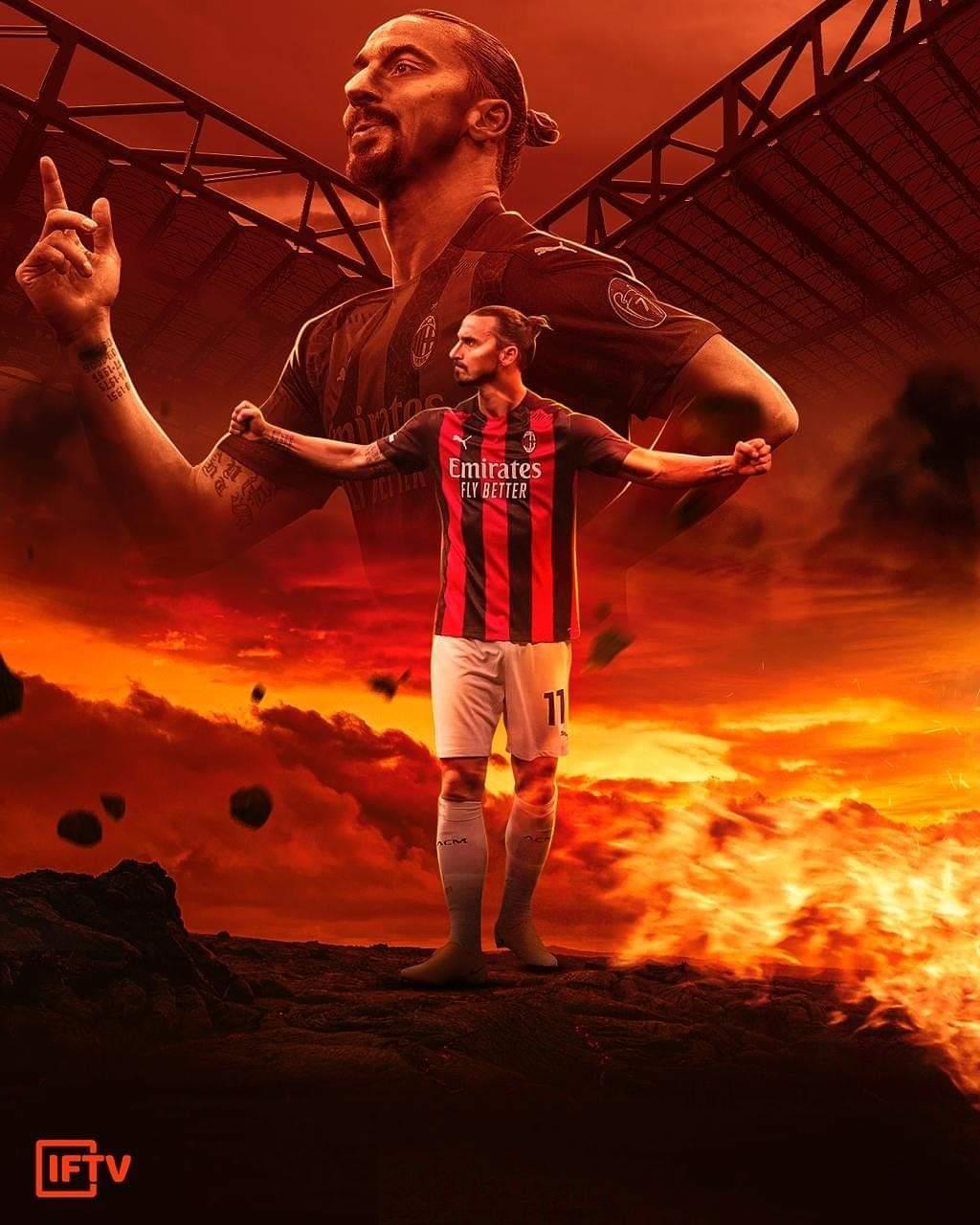 Zlatan Ibrahimovic di Serie-A