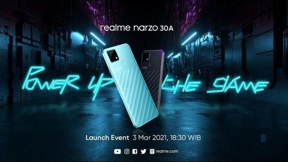 Realme Narzo 30A di Indonesia: Spesifikasi, Harga, Jadwal Rilis