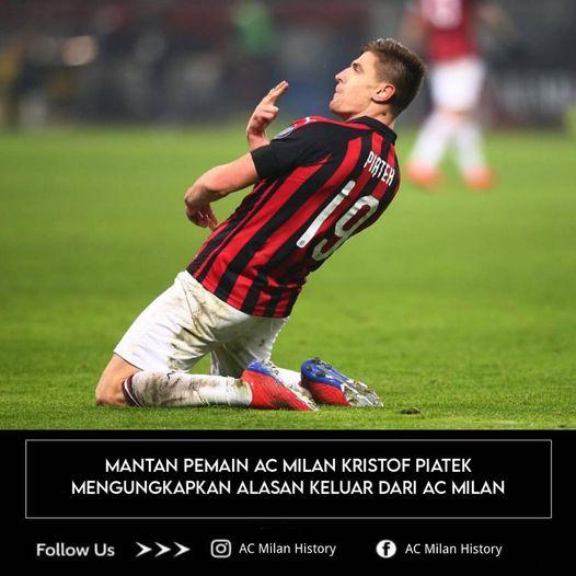 Dibalik Hengkangnya Krzysztof Piatek Mantan Striker Milan