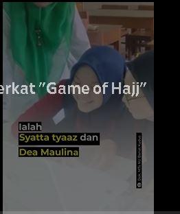 """Raih Penghargaan Internasional Berkat """"Game of Hajj"""""""