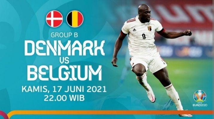 LIVE EURO2020 | Denmark vs Belgia Saksikan Disini