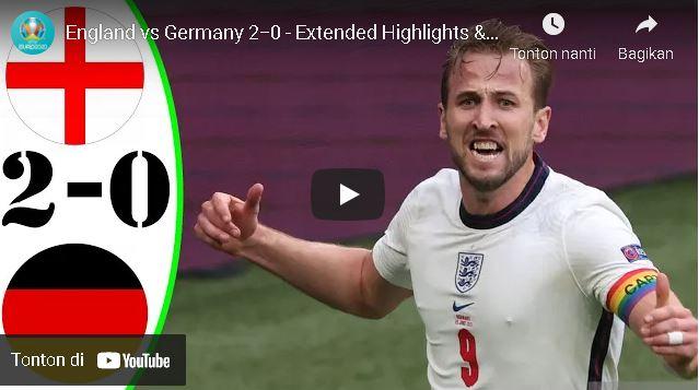 England vs Germany 2−0 – Extеndеd Hіghlіghts & All Gоals 2021 HD