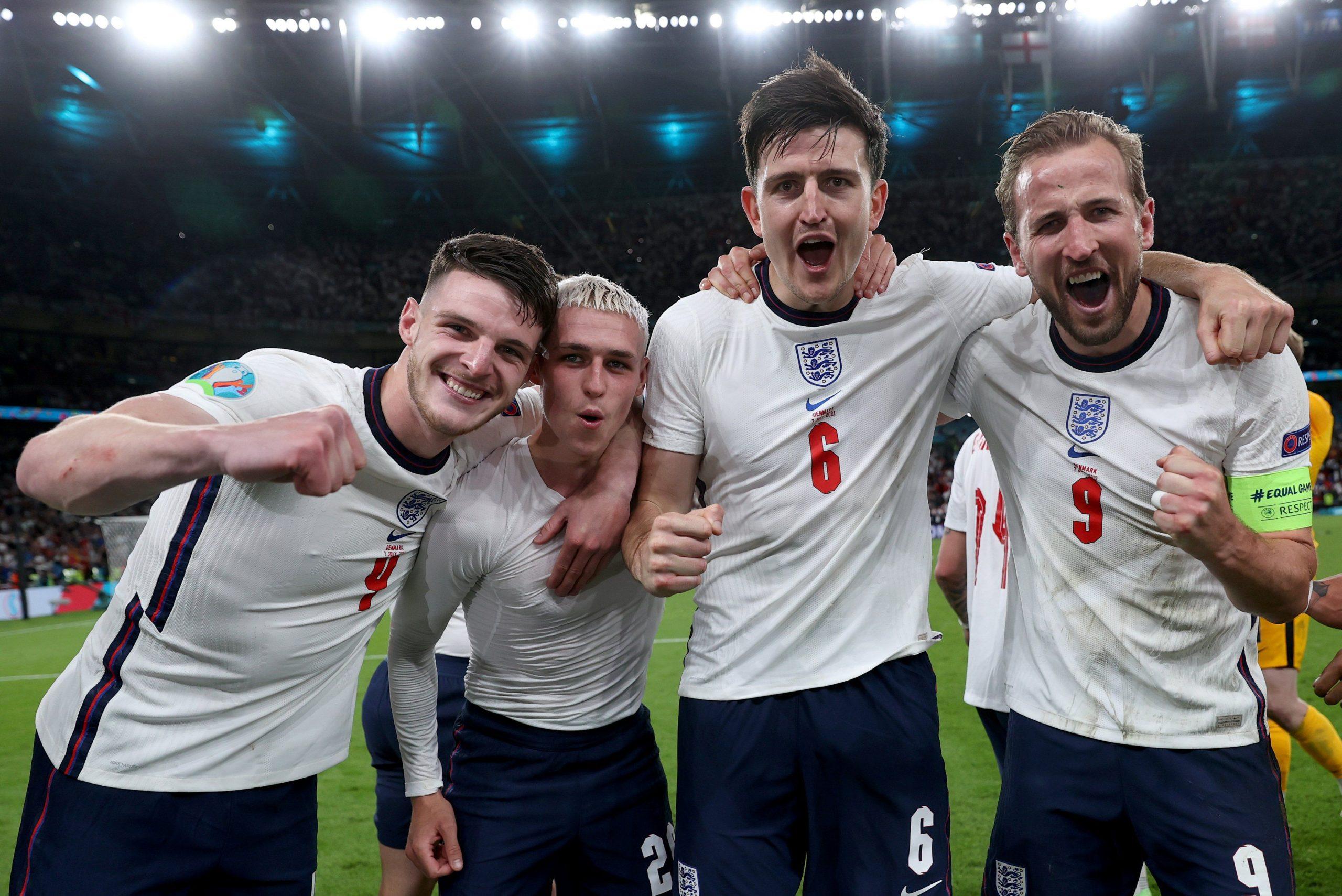 Hasil EURO 2021 Tadi Malam: Inggris vs Denmark 2-1, Lolos ke Final