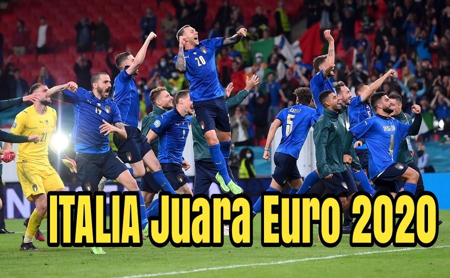Italia Juara Piala Eropa 2020