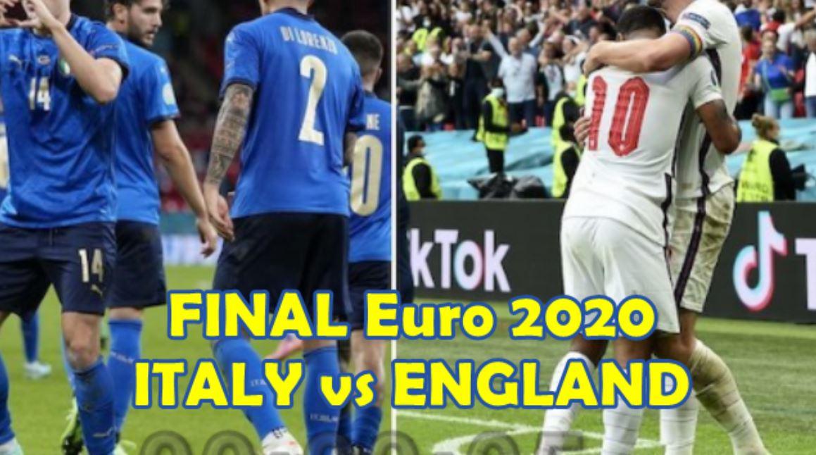 Final Euro 2020: Italia Vs Inggris