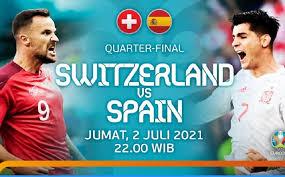Live Euro 2020 | Swisss vs Spanyol, Jumat 2 Juli 2021