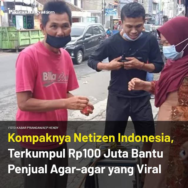 KOMPAKNYA NETIZEN INDONESIA, DALAM 1 HARI SAJA RP100 JUTA TERKUMPUL