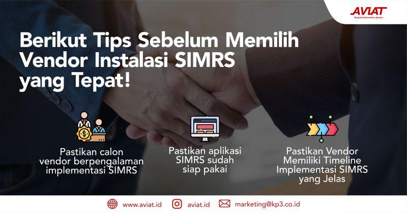 Tips Sebelum Memilih Vendor SIMRS yang tepat #aviat