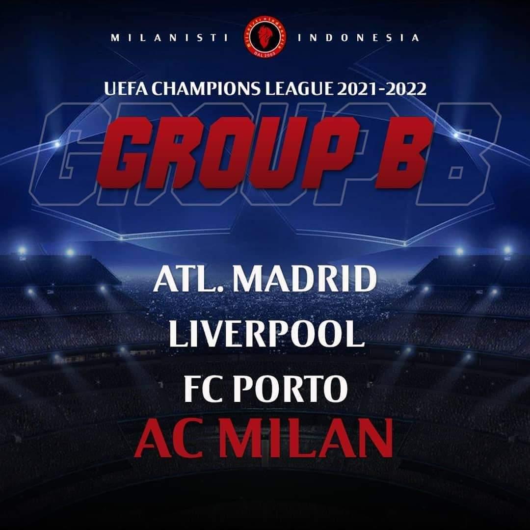 Grup Neraka di UCL? Kami adalah AC Milan
