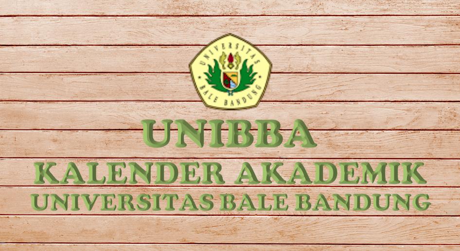 Kalender Akademik 2021/2022 Universitas Bale Bandung