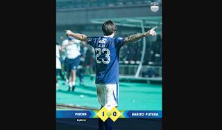 Hasil Persib Bandung vs Barito Putera, Marc Klok Cetak Gol Penentu di Laga Debut nya