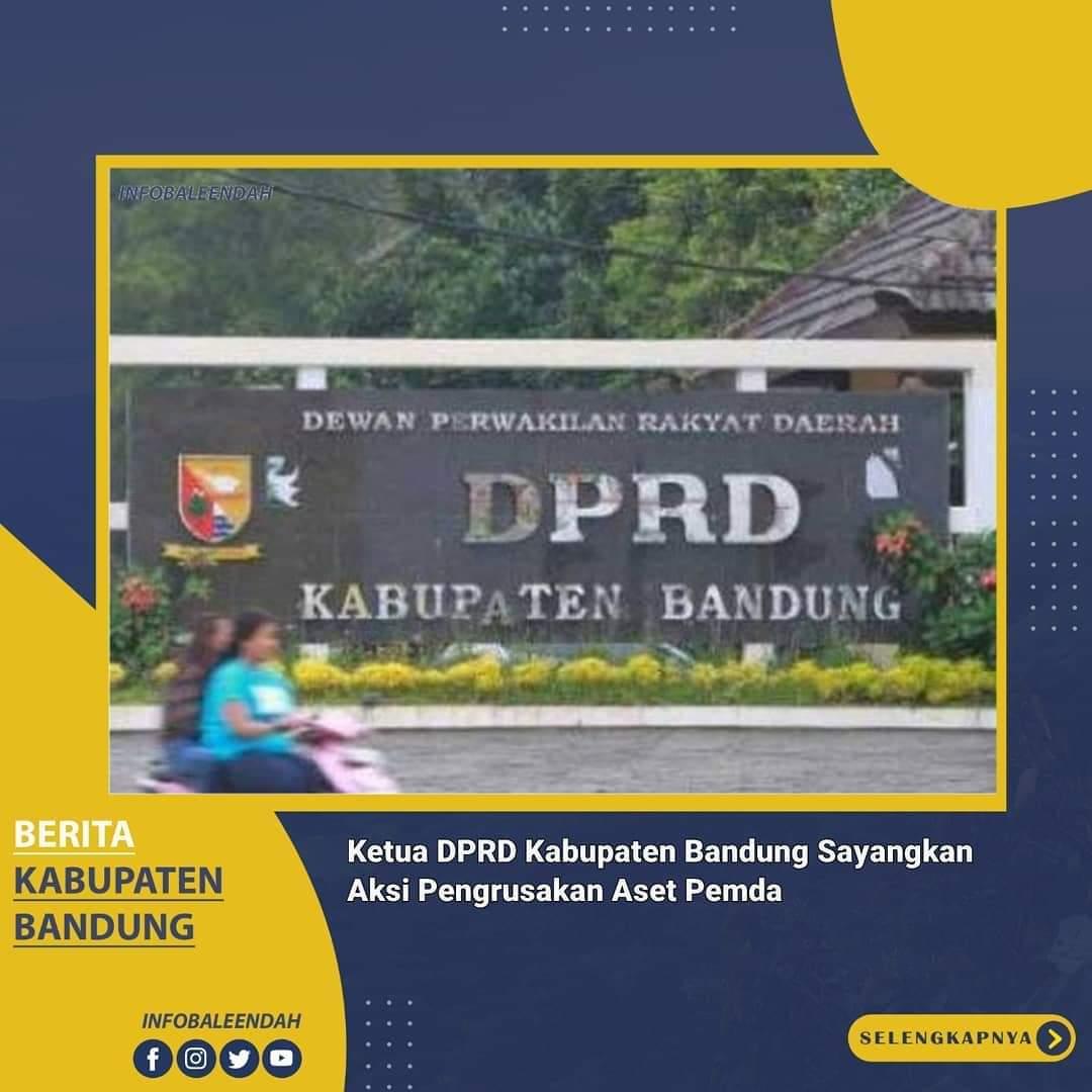 Perusakan ruang Fraksi PKS Kab.Bandung