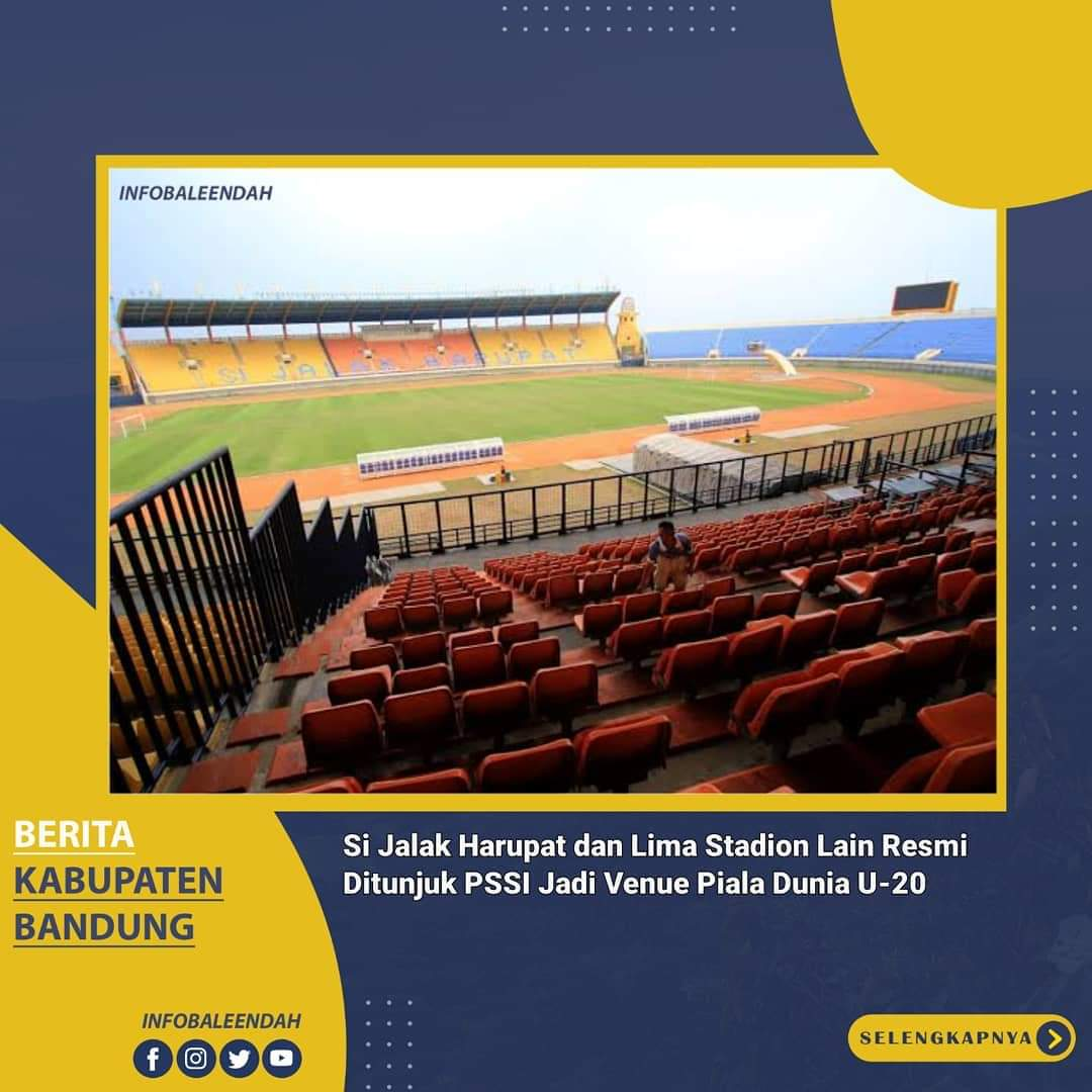 Enam Stadion yang ditunjuk untuk venue Piala Dunia U-20 2021
