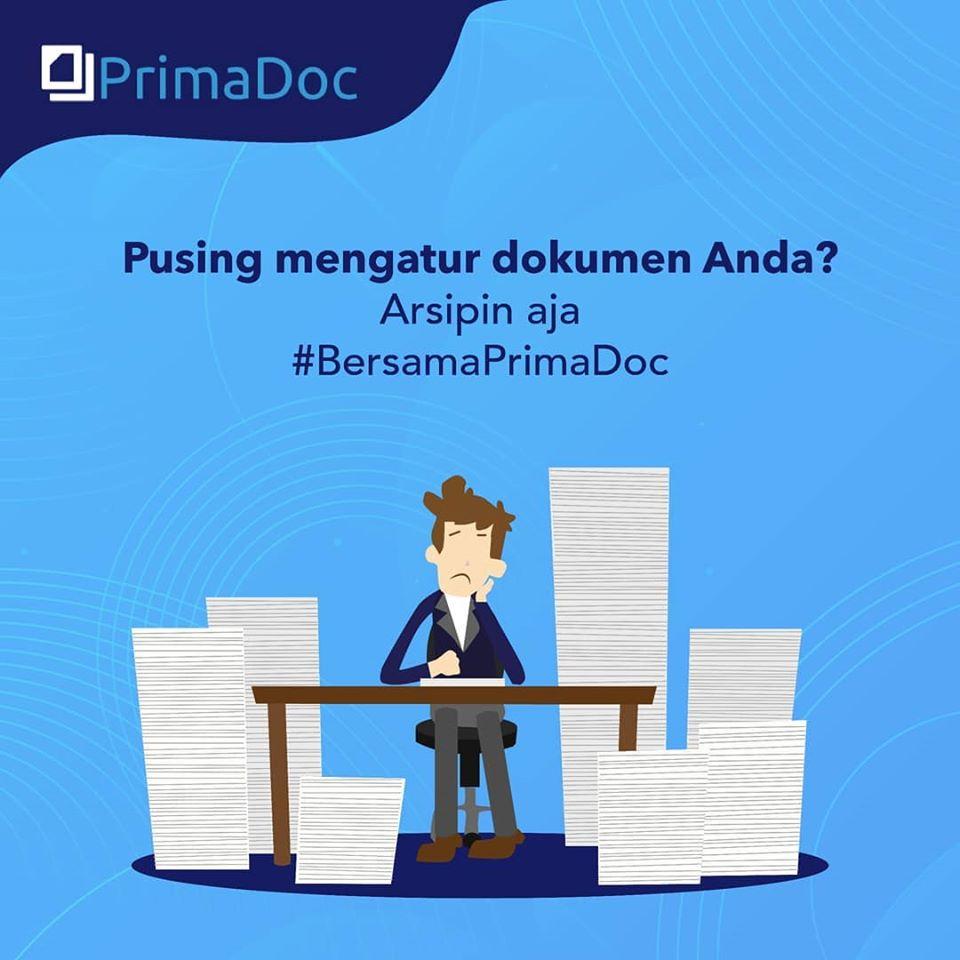 PrimaDoc, solusi untuk mengarsip surat dan dokumen perusahaan Anda.