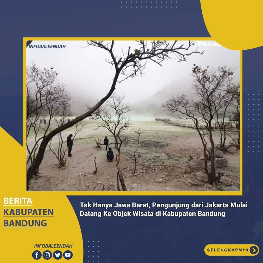 Kawasan wisata di Kabupaten Bandung bagian selatan sudah kembali beroperasi
