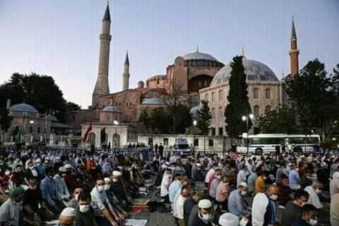 Antara Masjid Hagia Sophia dan Masjid Alhambra Cordova
