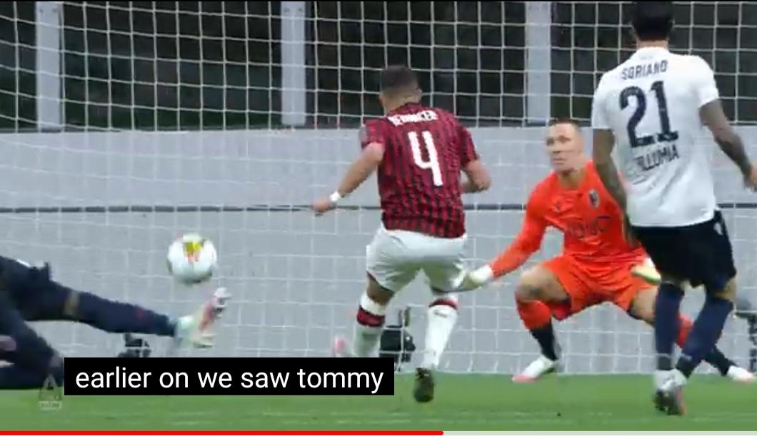 Ac Milan kembali Menang Atas Bologna 5 – 1