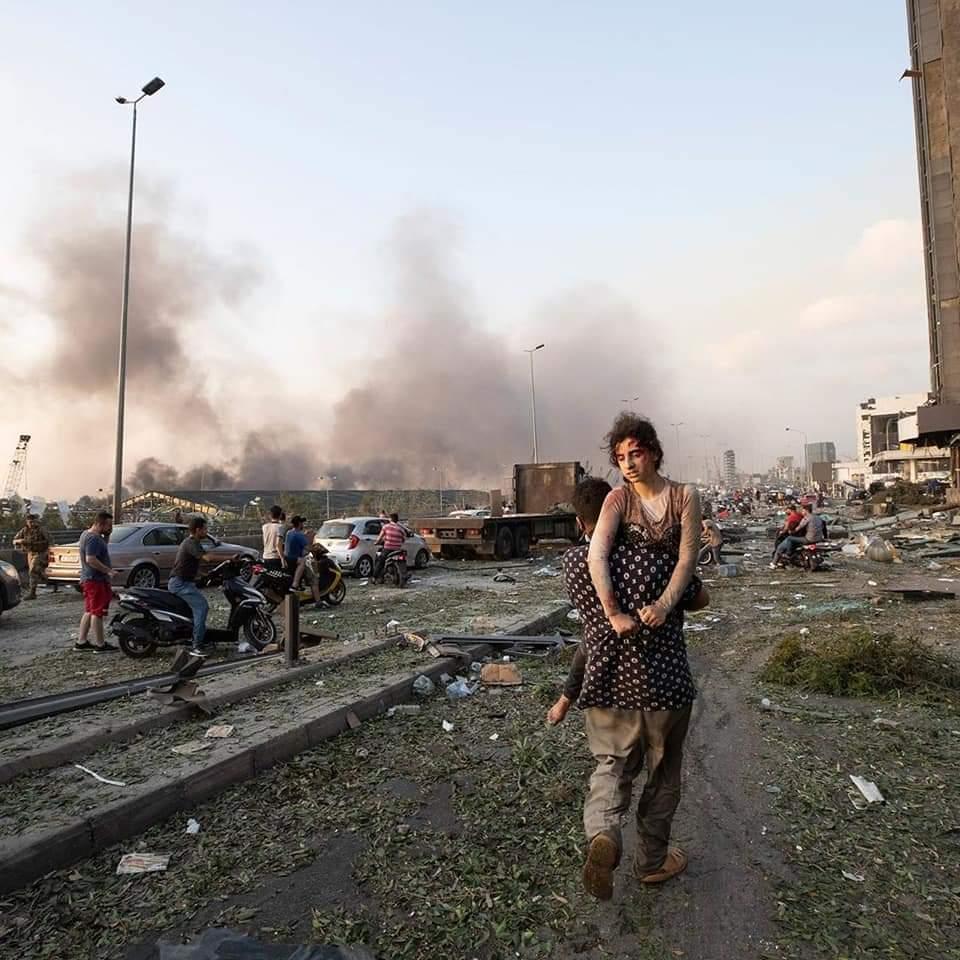 Ledakan terjadi di tepi laut Kota Beirut – Libanon