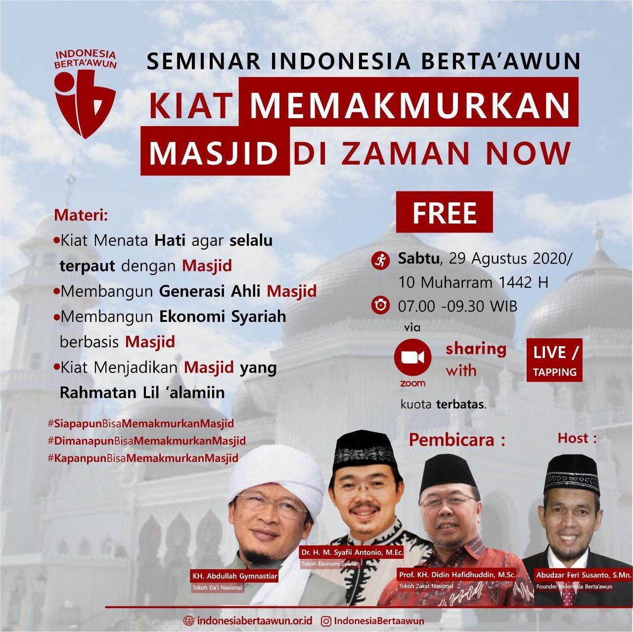 """Web Minar """"INDONESIA BERTAAWUN"""""""