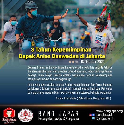 "Rahasia ""Kekuatan"" Anies Baswedan Memimpin Jakarta"