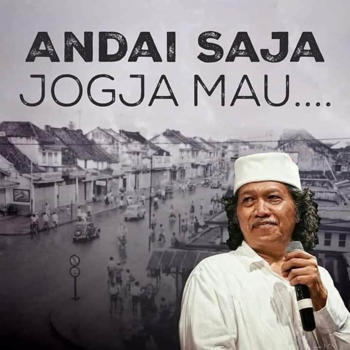 Seandainya Jogya mau, Indonesia milik Jogya…