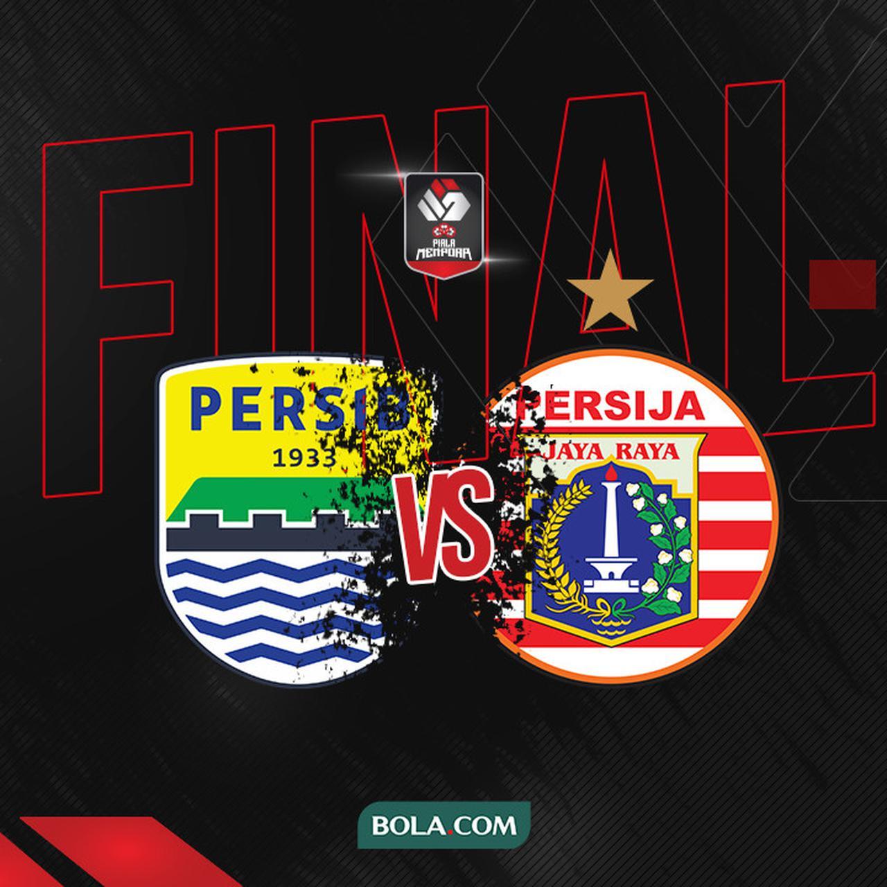 Live Streaming Persija vs Persib di Final Piala Menpora 2021