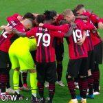 MILAN bermain Imbang melawan Cagliari di pekan ke 37