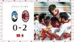 Menang atas Tuan Rumah Atalanta 0- 2 | Milan Lolos ke UCL setelah penantian 7 Tahun