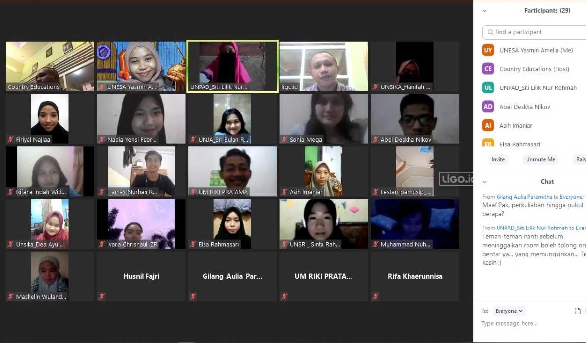 Kesan dan Pesan Mahasiswa yang Jalani Kuliah Daring