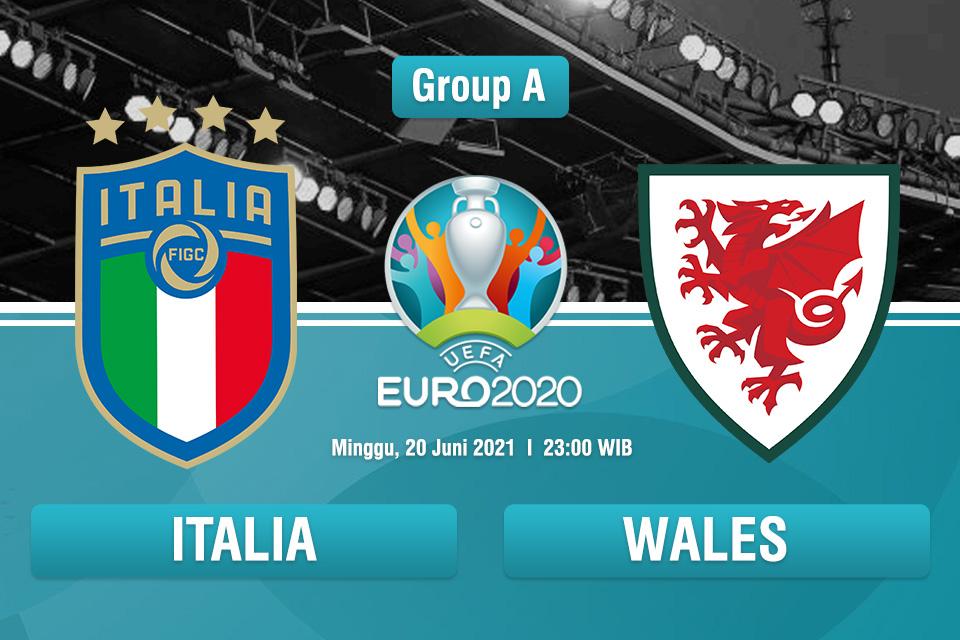 LIVE STREAMING Euro2020 | ITALIA Vs Wales