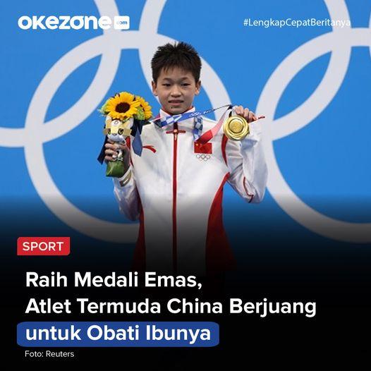 Kisah menyentuh dan bikin terharu datang dari pentas Olimpiade Tokyo 2020