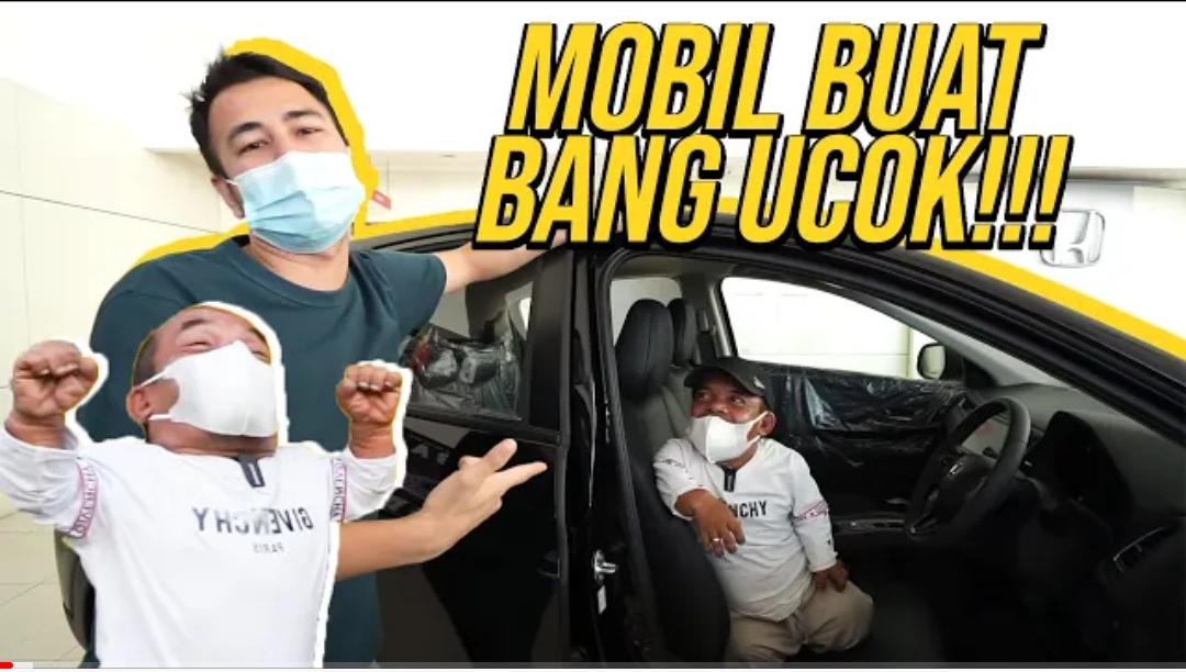 Kegabutan Raffi Ahmad – Membelikan Ucok Baba Mobil Honda H-RV