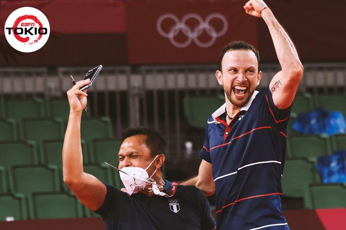 NamaMuamar Qadafimenjadi perbincangan hangat di ajang Olimpiade Tokyo 2020. Siapakah dia ?