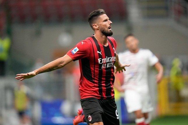 Olivier Giroud Soal 'Kutukan' Nomor 9 di AC Milan: Takhayul!