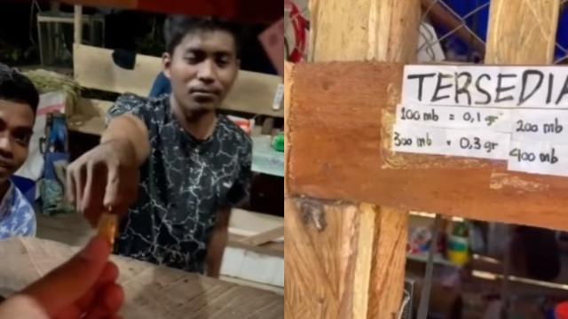 WOW… Viral Barter Emas di Pedalaman Papua, 1 Gram Dapat Kuota Internet 1 GB