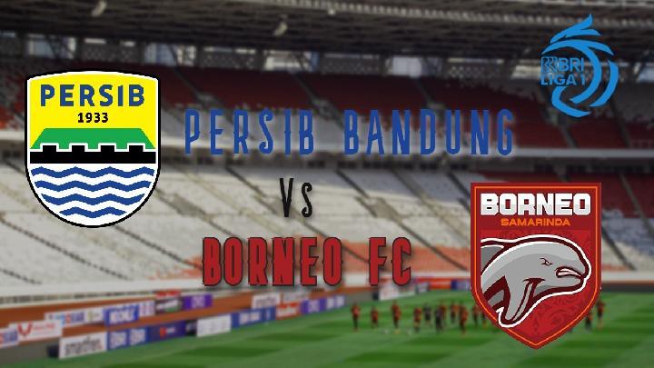 Hasil Liga 1 Persib Bandung vs Borneo FC Berakhir Imbang 0-0