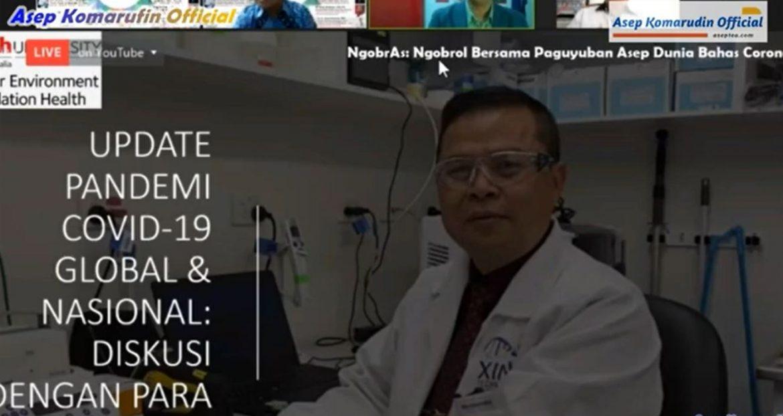 Dr. Dicky Budiman M.Sc Ph.D : Pakar Epidemiologi Griffith University Australia   Dalam Ngobras PAD