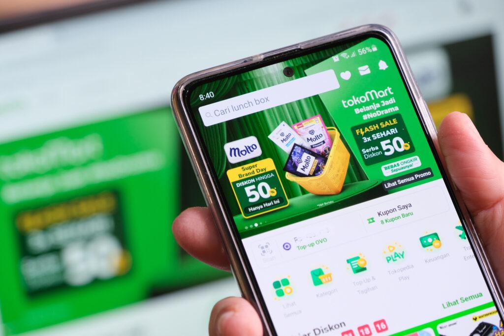 Tokopedia Jadi eCommerce dengan Kunjungan Tertinggi di Indonesia pada Q2 2021