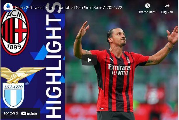 highlight – Milan 2-0 Lazio | Milan triumph at San Siro | Serie A 2021/22