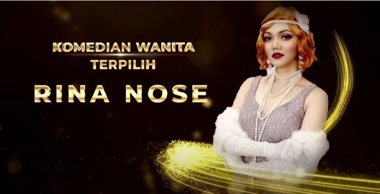 Anugerah Komedi Indonesia 2021, Komeng dan Rina Nose Jadi Komedian Terpilih
