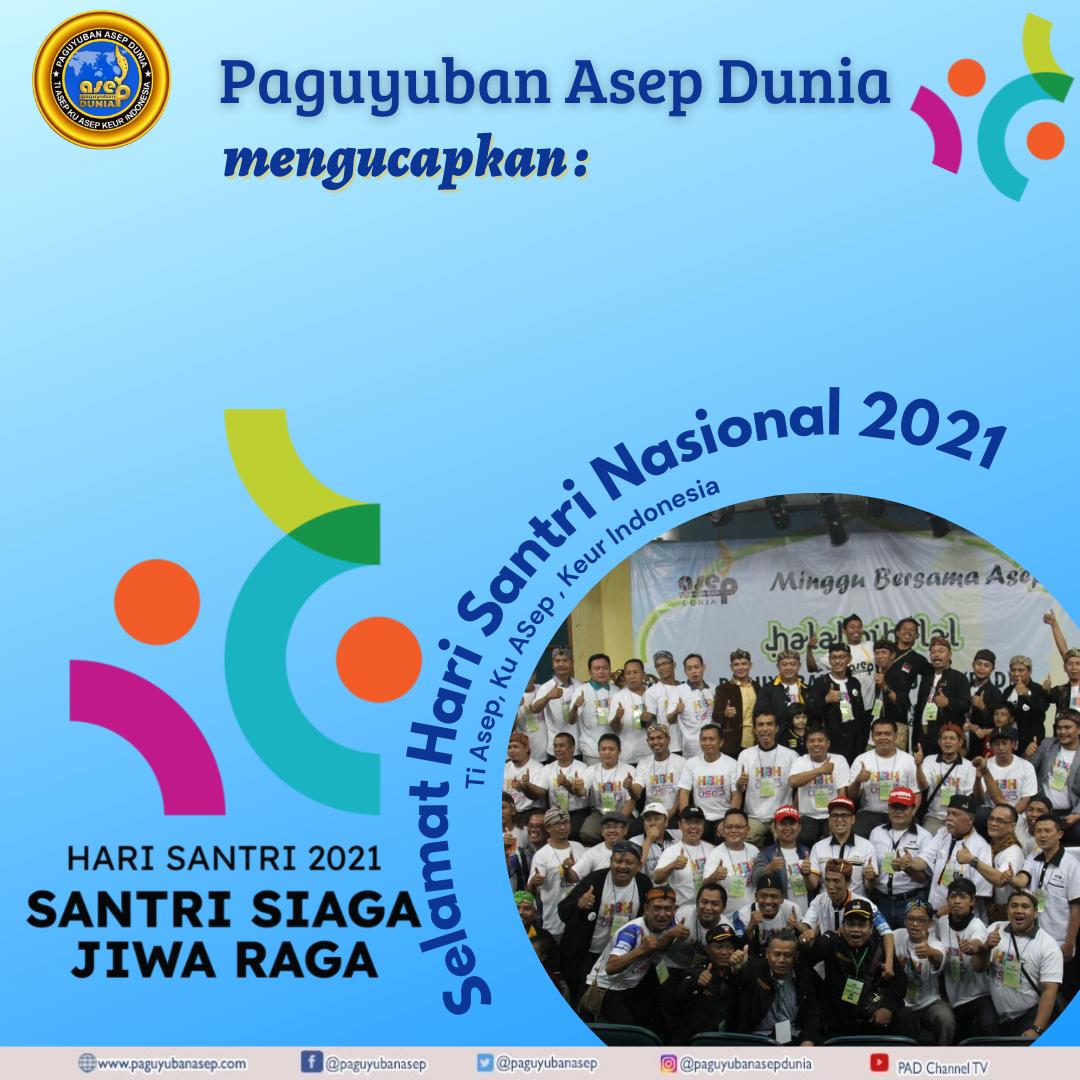 Selamat Hari Santri Nasional Tahun 22 Oktober 2021